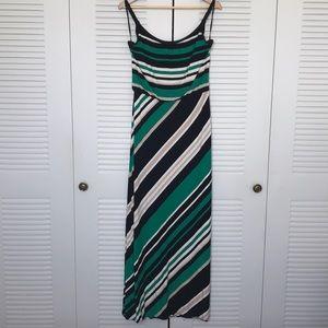 Striped Tank Maxi Dress